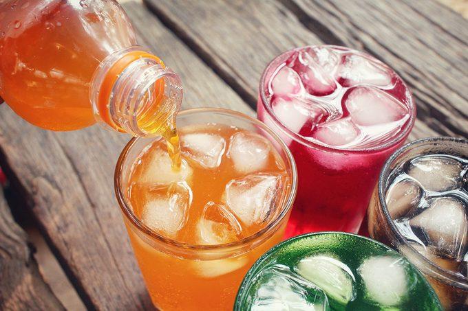 worst hydration drinks, Soft drinks