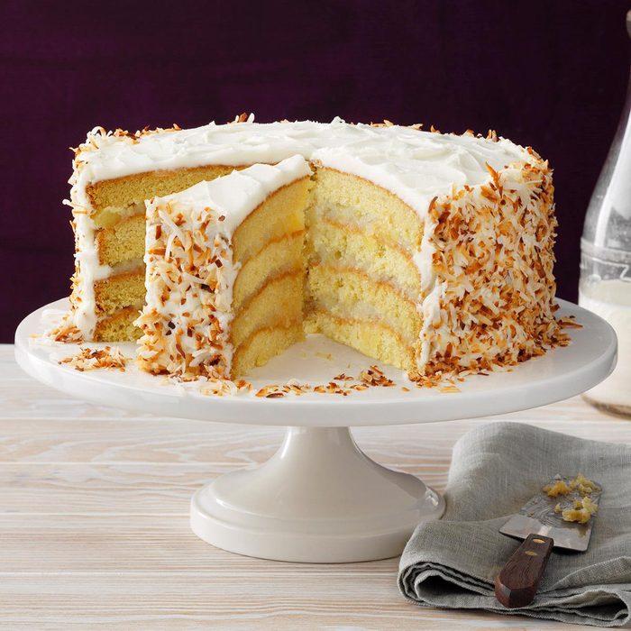 Coastal Coconut Cream Cake