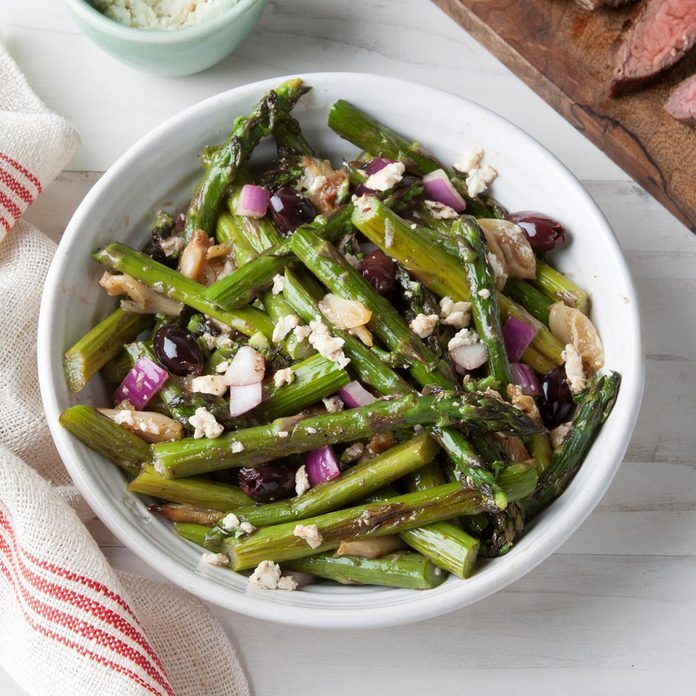 Greek Asparagus Salad