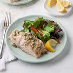 Lemon-Dijon Grilled Salmon Foil Packet