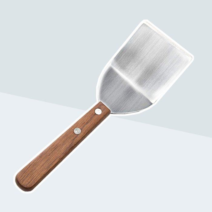 Fox Run 5341 Cookie/Brownie Spatula, Stainless Steel, Wood Handle