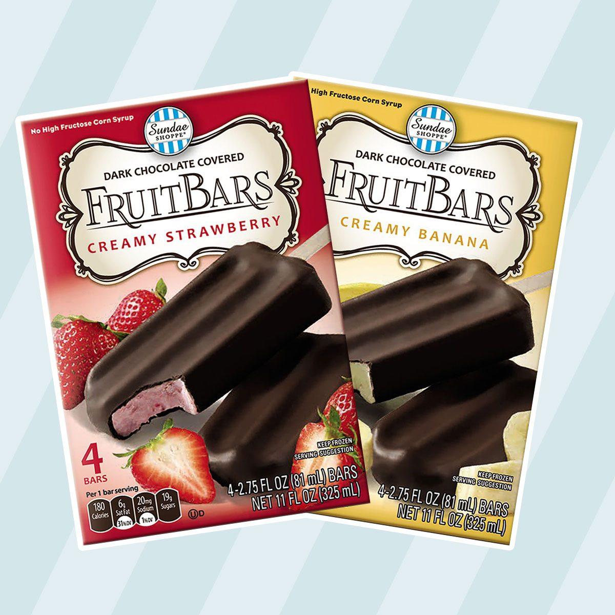 Chocolate Enrobed Assorted Fruit Bars