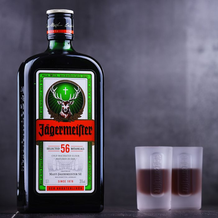 Bottle of Jagermeister