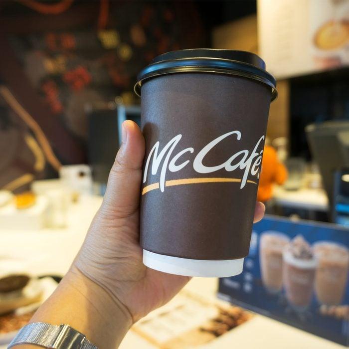 McDonald's Coffee McCafe It Forward