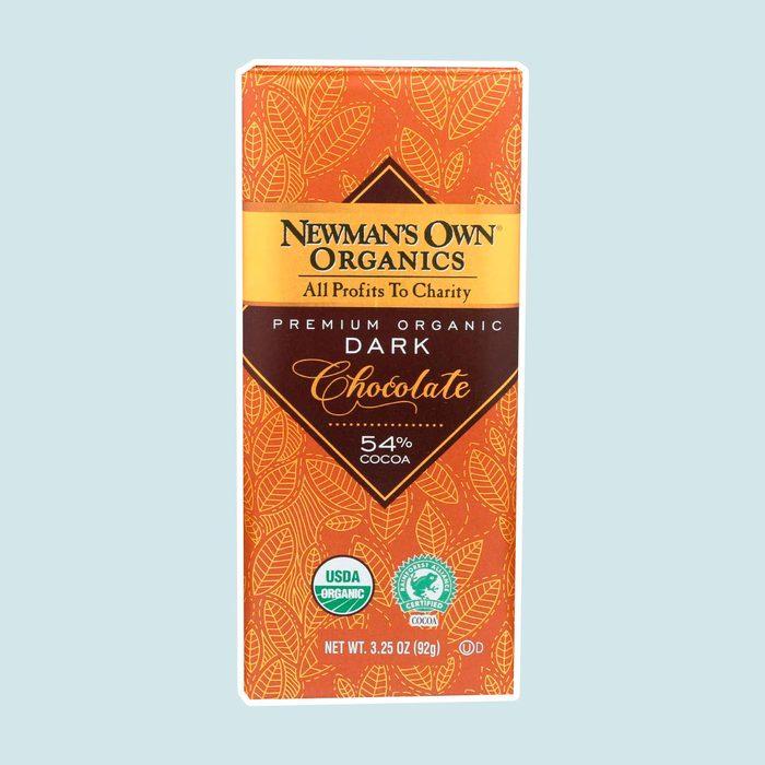 vegan chocolate, Newman's Own Organics Dark Chocolate