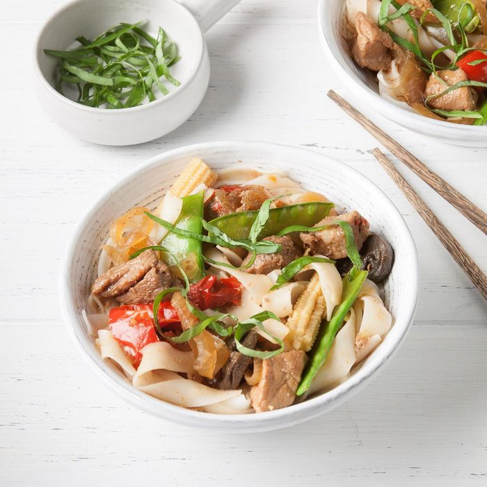 Slow-Cooked Thai Drunken Noodles