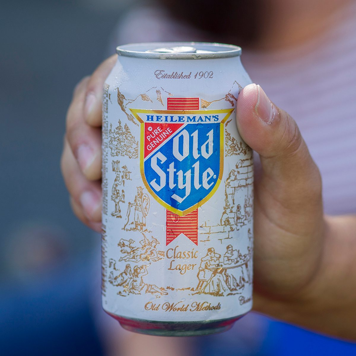 Can of Old Style beer