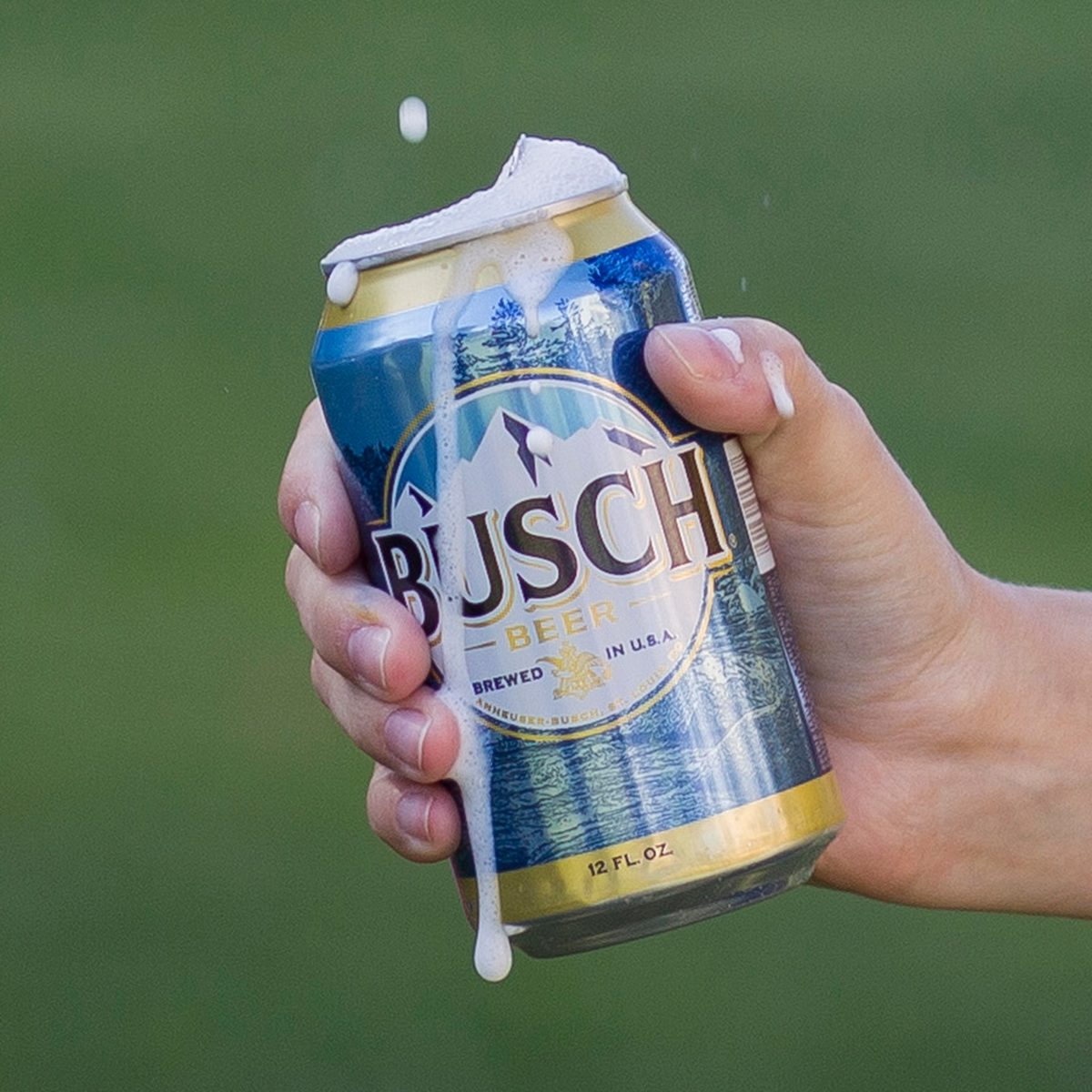 Can of Busch beer
