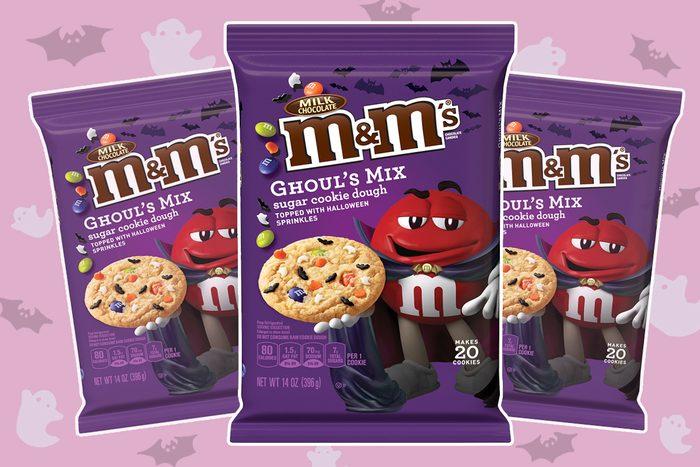 M&M's GHOUL'S MIX Sugar Cookie Dough 14 oz. Pack