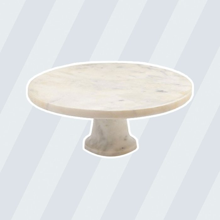 Sur La Table White Marble Cake Stand STW - 2324