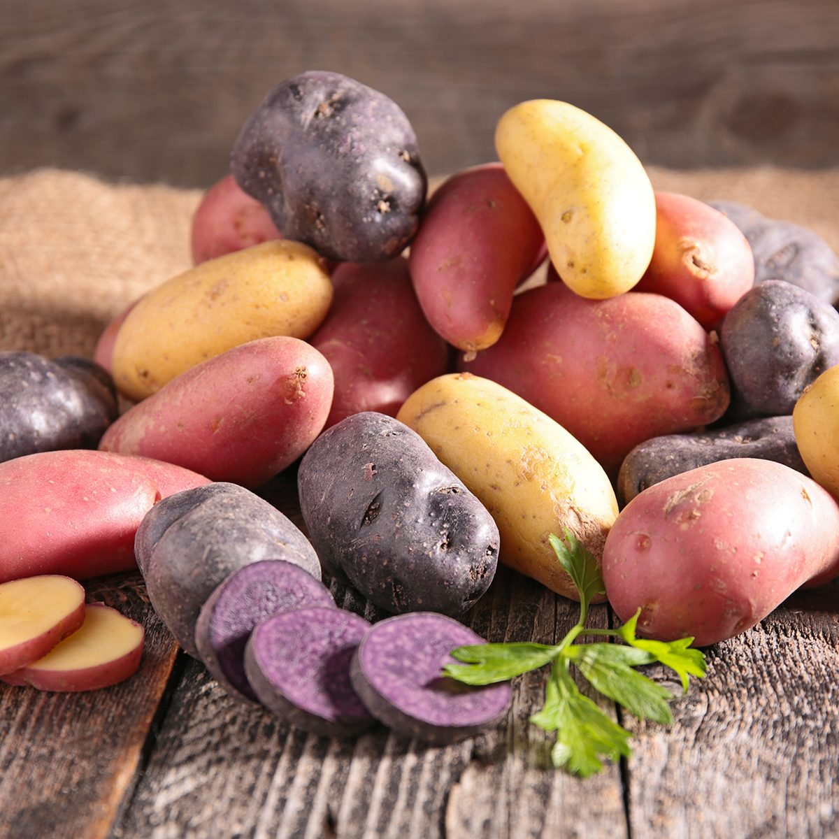 assortment of potatoes
