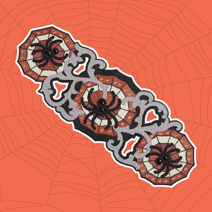 beaded spider halloween