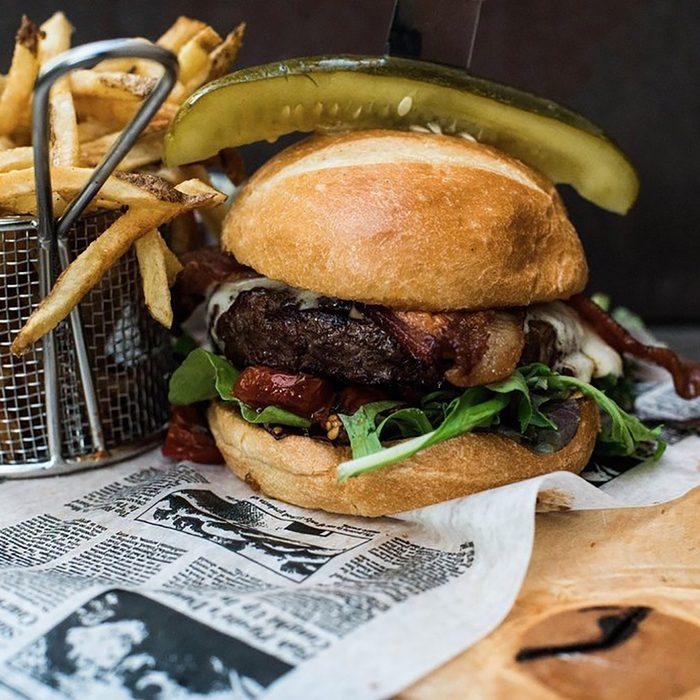 best burger in Wyoming Cowfish