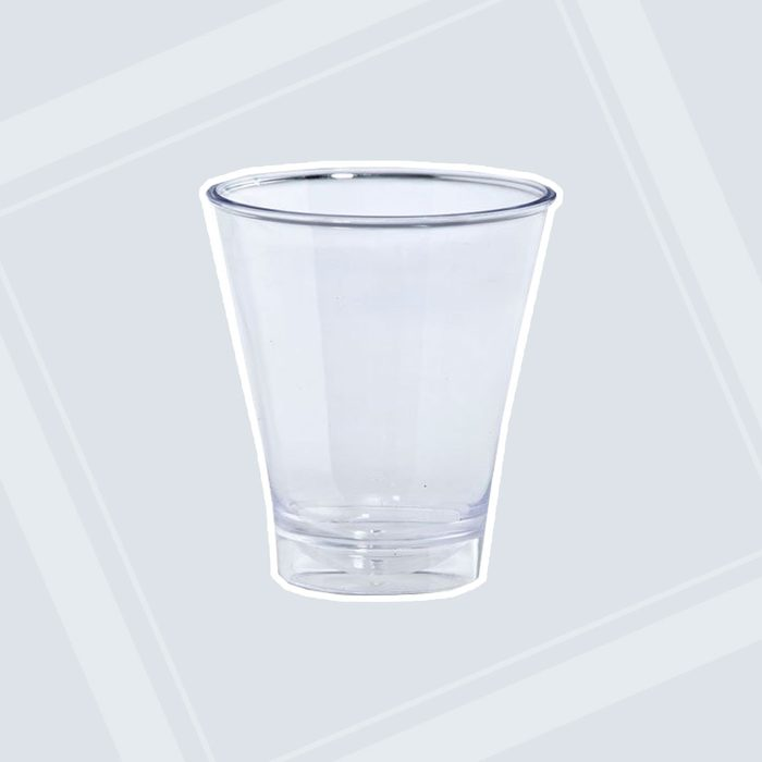 Lillian Tablesettings 10-Piece Double Shot Glasses Set, 5-Ounce, Clear