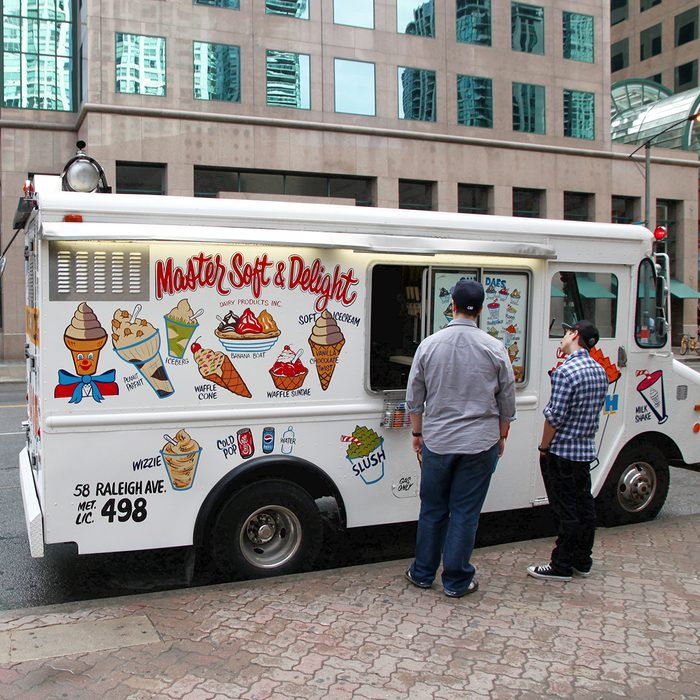 An ice cream truck on May 20, 2011 in Toronto.