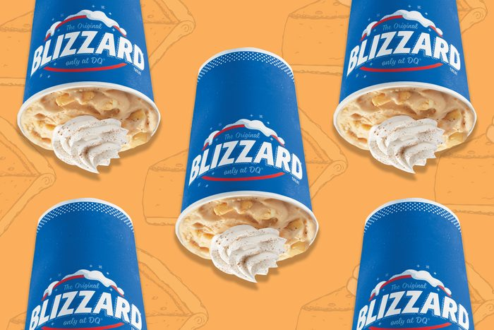 pumpkin pie blizzard