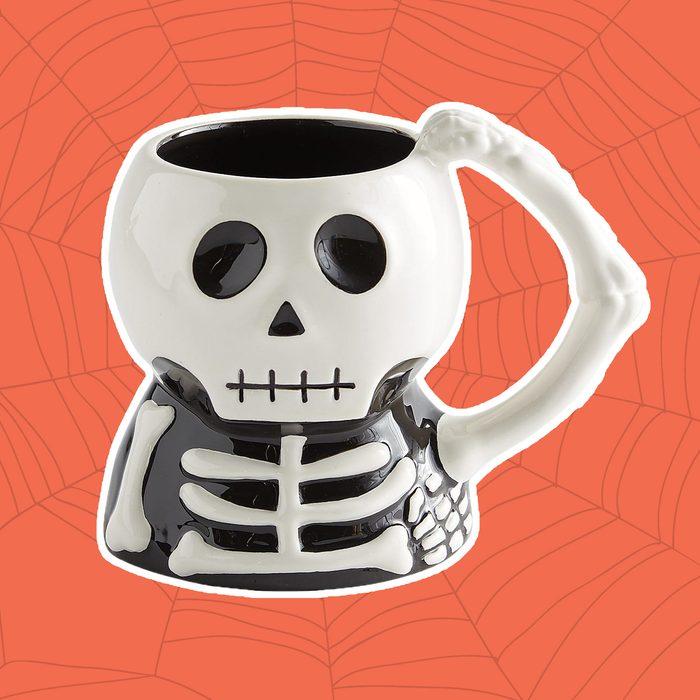 skelton mug