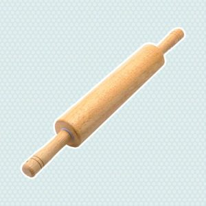 Classic Wooden Rolling Pin