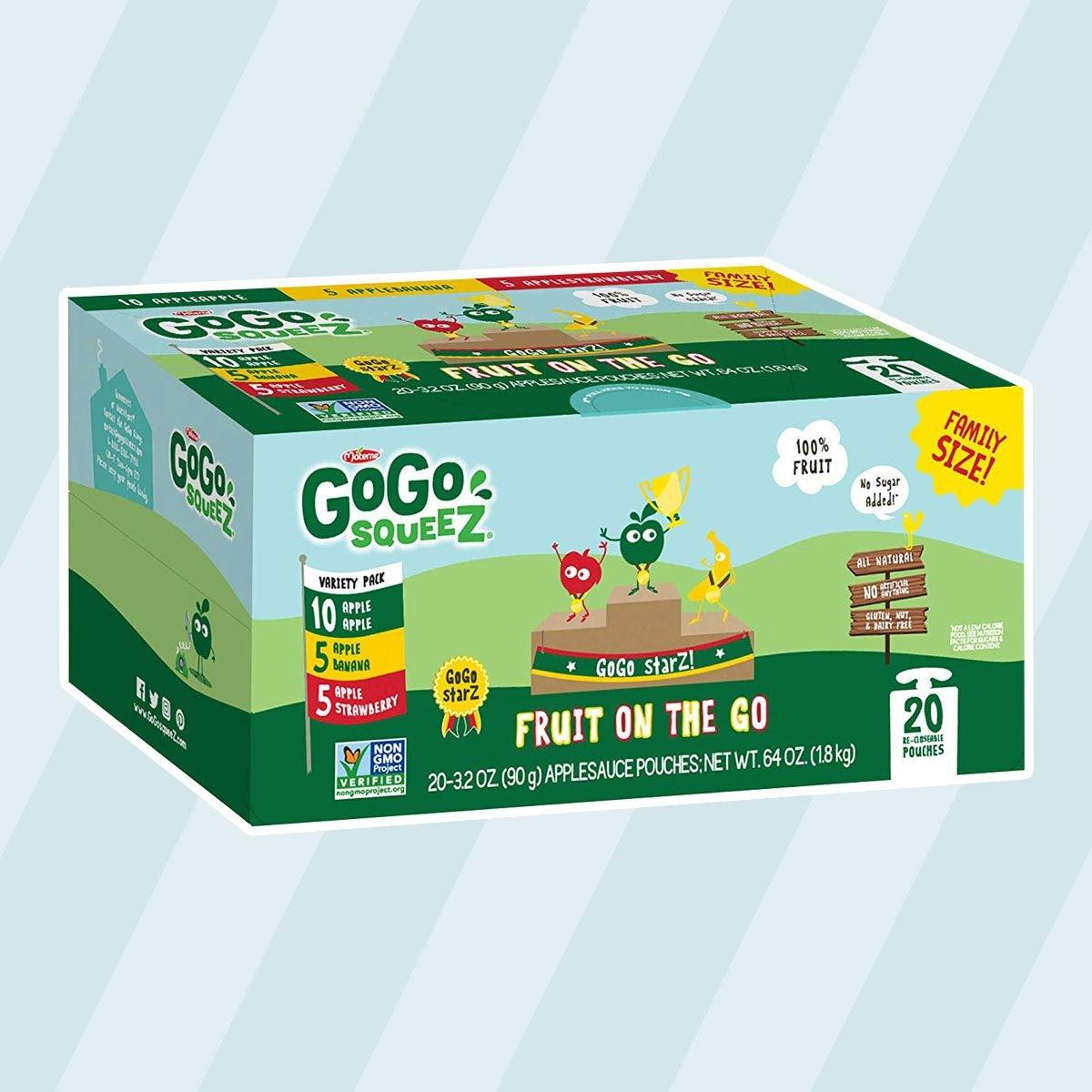 GoGo Squeeze Applesauce on the Go