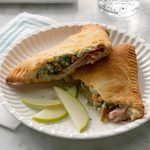 Air Fryer Ham and Cheese Turnovers