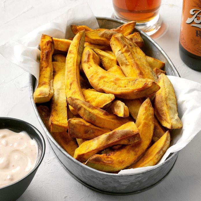 Pumpkin Fries With Chipotle Maple Sauce  Exps Thcom19 236034 E02 27 6b 9