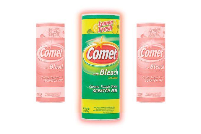 Comet® Lemon Fresh with Bleach Cleaner, 21oz