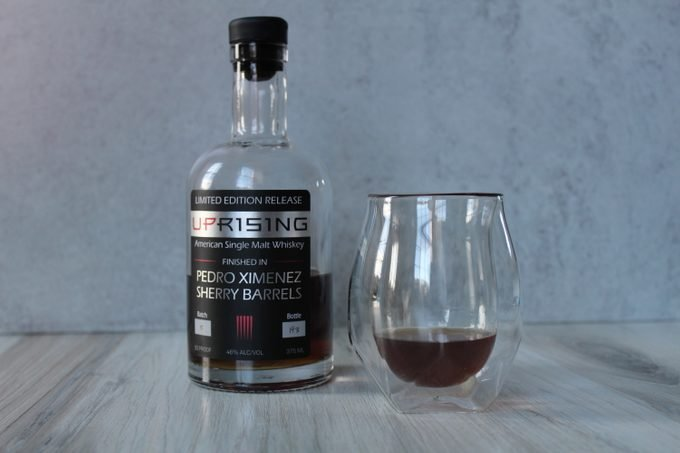 Norlan Whisky Glass with Sons of Liberty Single Malt Whiskey