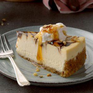 Brown Sugar & Chocolate Swirl Cheesecake