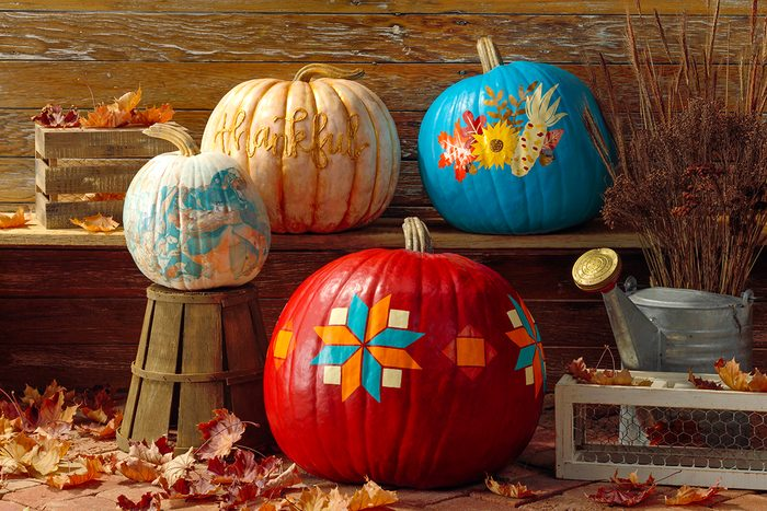 fall pumpkins country woman thankful pumpkin no carve ideas