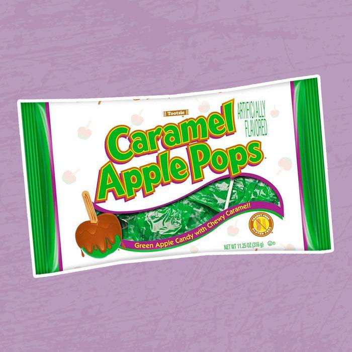 Caramel Apple Pops Halloween Bag