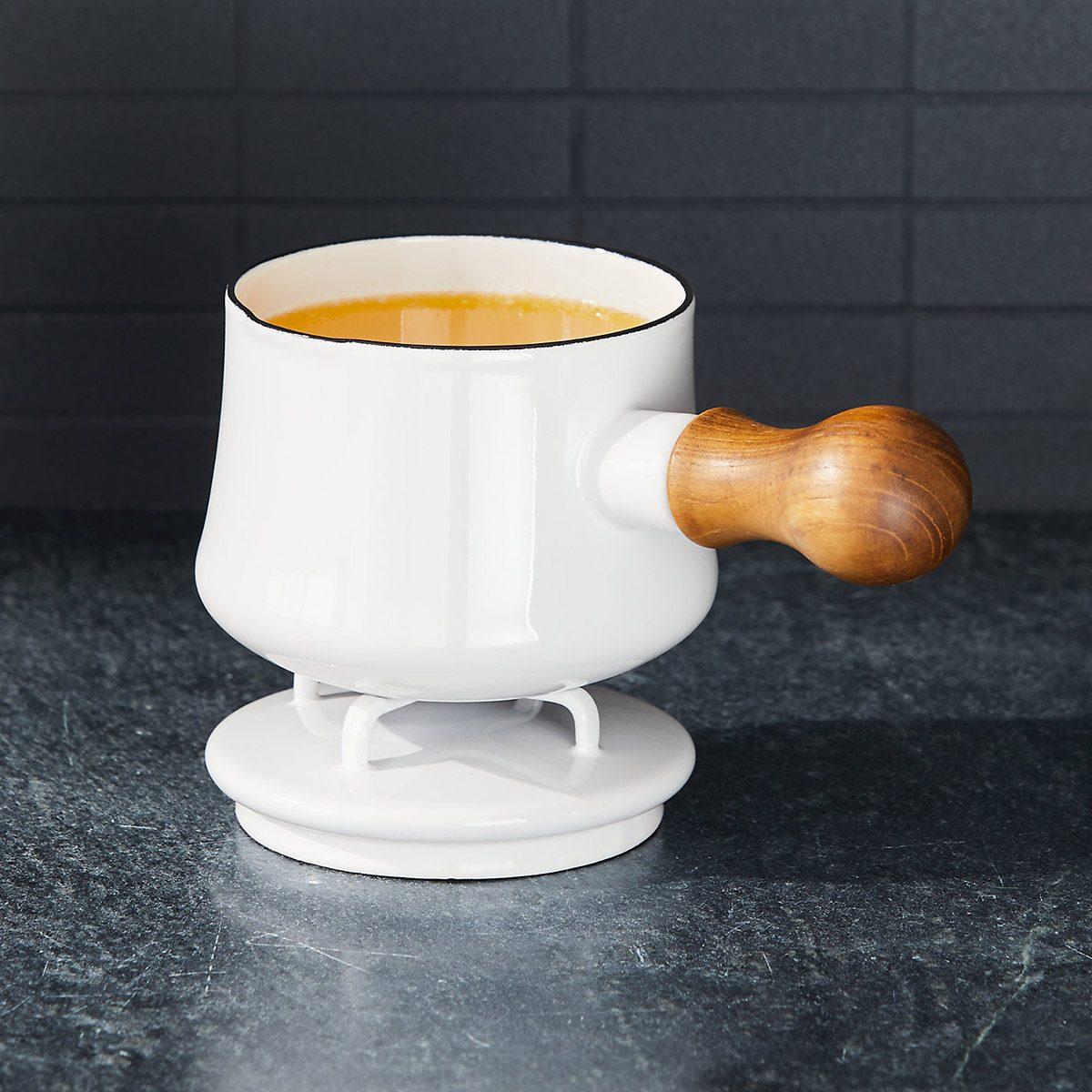 Dansk ® Kobenstyle White Butter Warmer with Lid