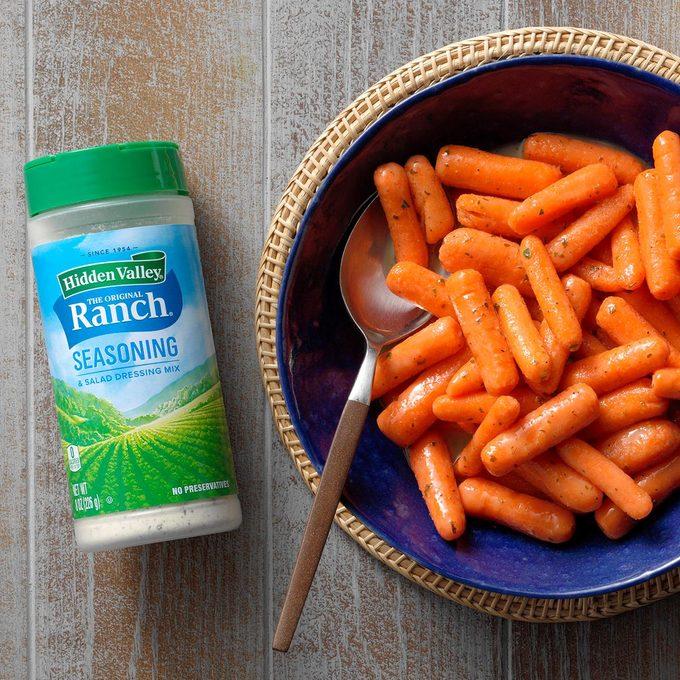 Ranch-Glazed Baby Carrots