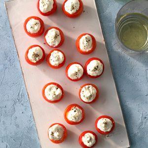 Feta Cheese-Stuffed Tomatoes