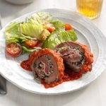 Italian Stuffed Beef Rolls