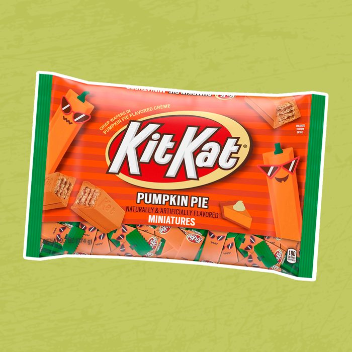Kit Kat Halloween Pumpkin Pie Candy