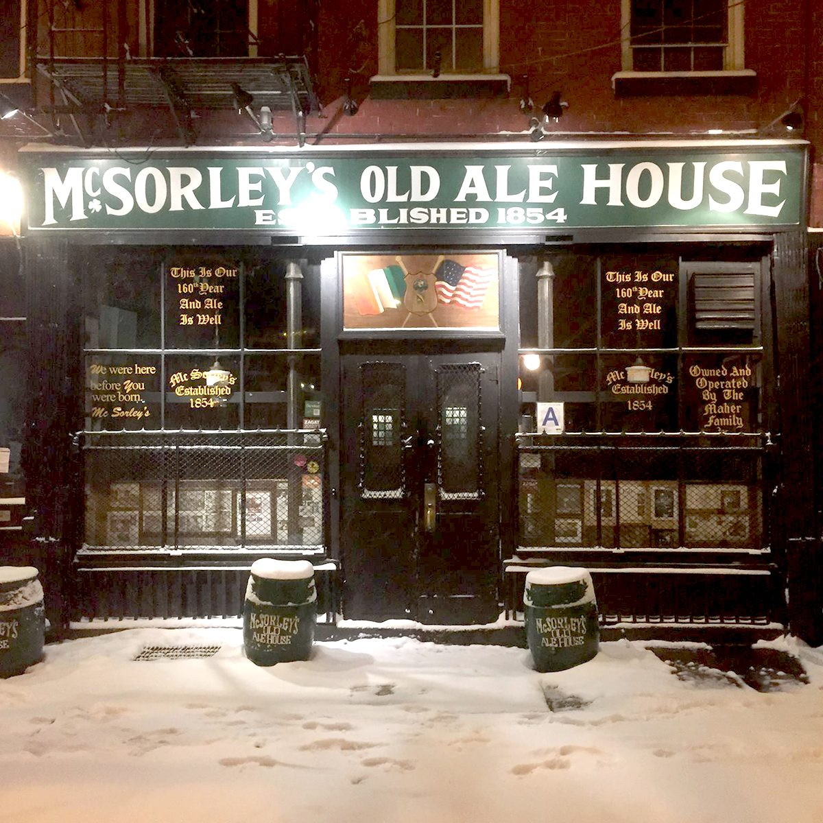 McSorley's Old Ale House, New York City