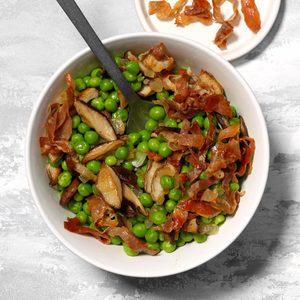 Prosciutto and Peas