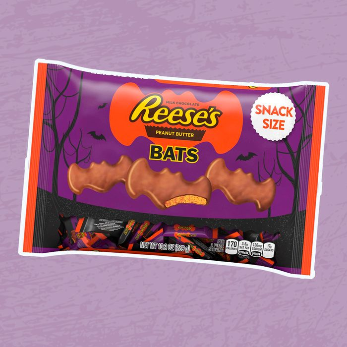 Reese's Peanut Butter Cup Bats Halloween Snack Size