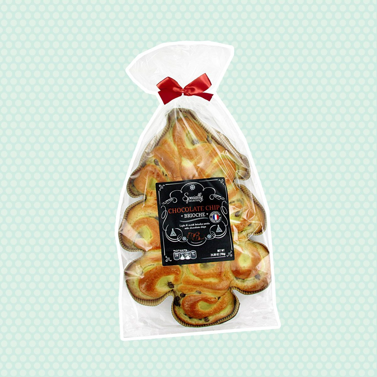 Specially Selected Christmas Tree Brioche Chocolate Chip