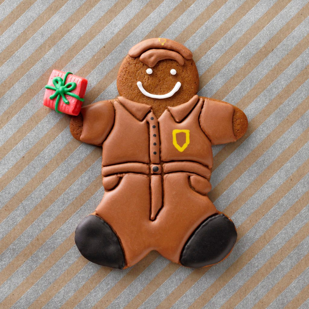 delivery buddy cookie christmas