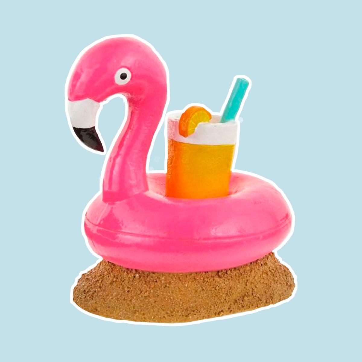 Top Fin® Floating Flamingo Aquarium Ornament