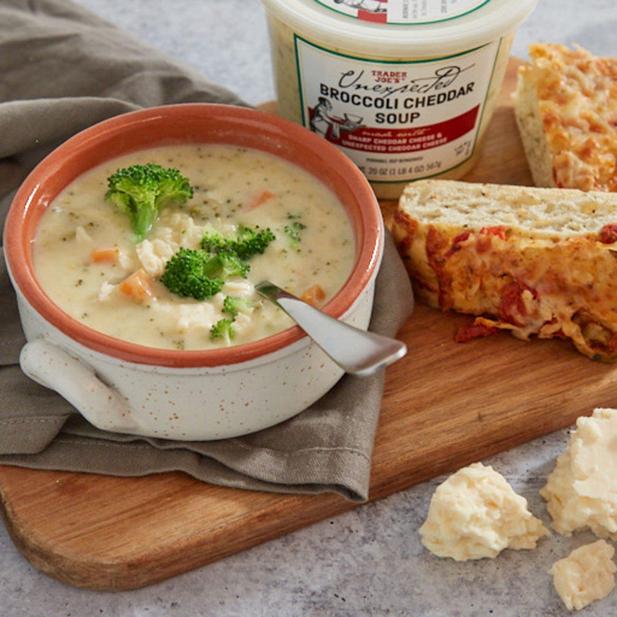 Trader Joe's Cheddar Broccoli Soup