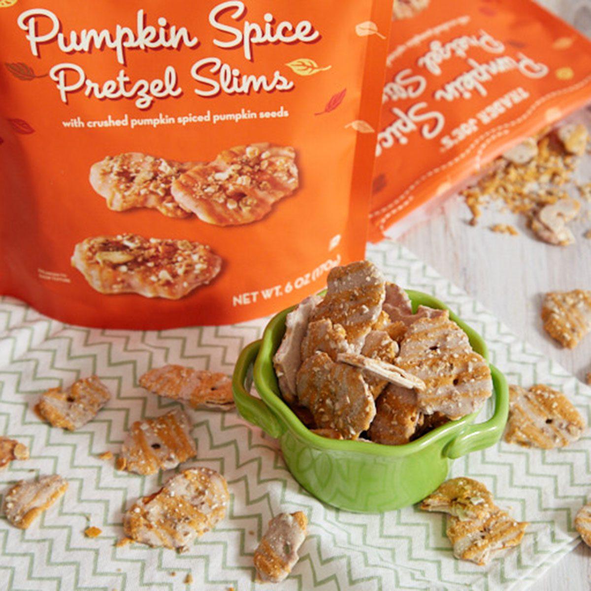 Trader Joe's Pumpkin Spice Pretzels