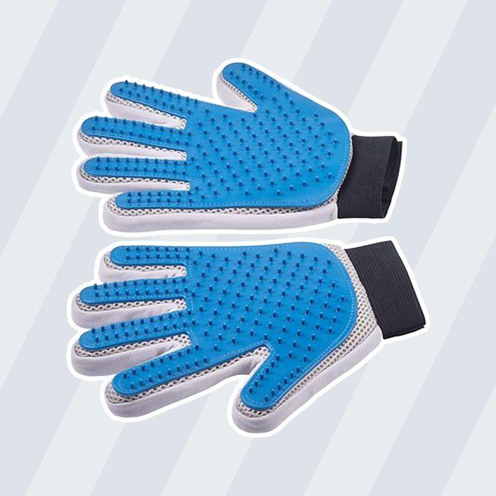 Pat Your Pet Five Finger Grooming Glove