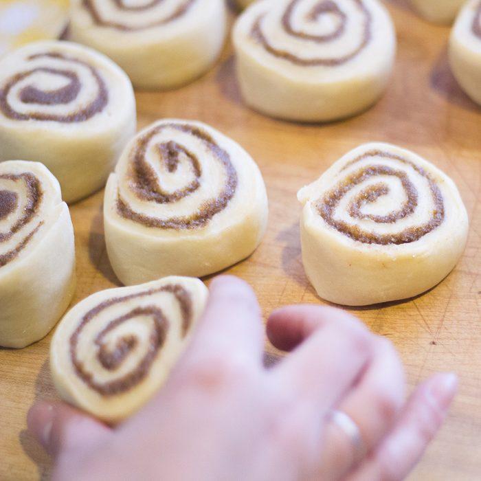 Making Delicious Cinnamon Rolls