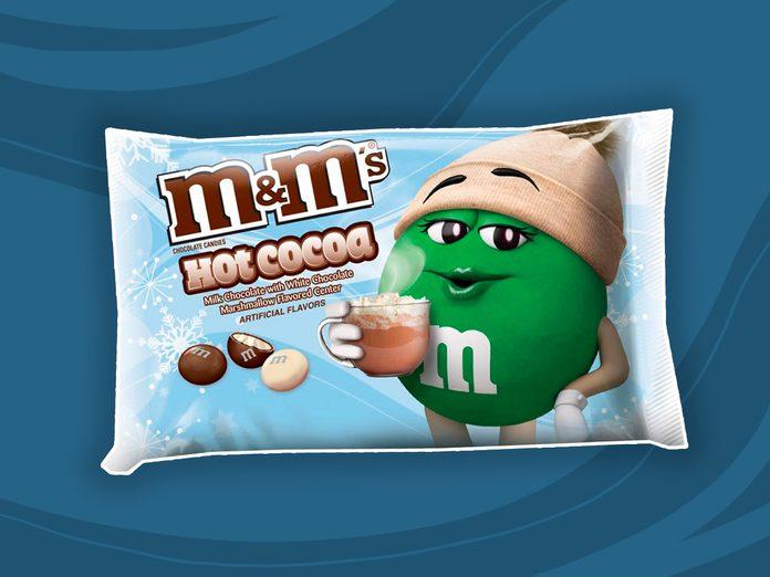m&ms hot cocoa