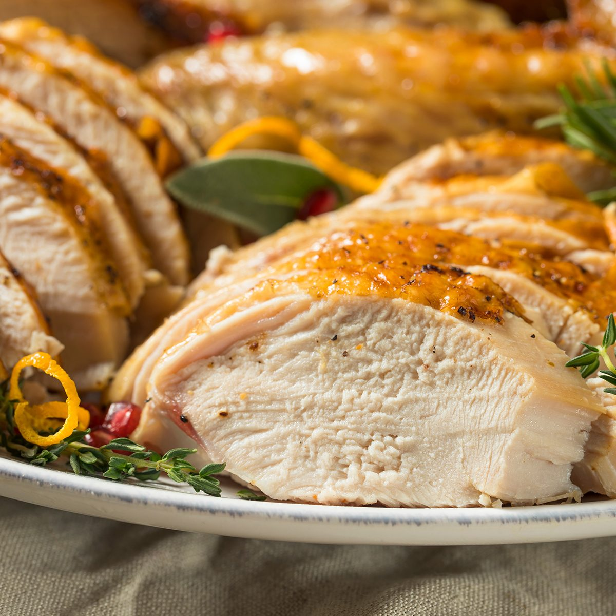 Roasted Cut Up Turkey Platter For Thanksgiving with All the Sides; Shutterstock ID 1207094152; Job (TFH, TOH, RD, BNB, CWM, CM): TOH