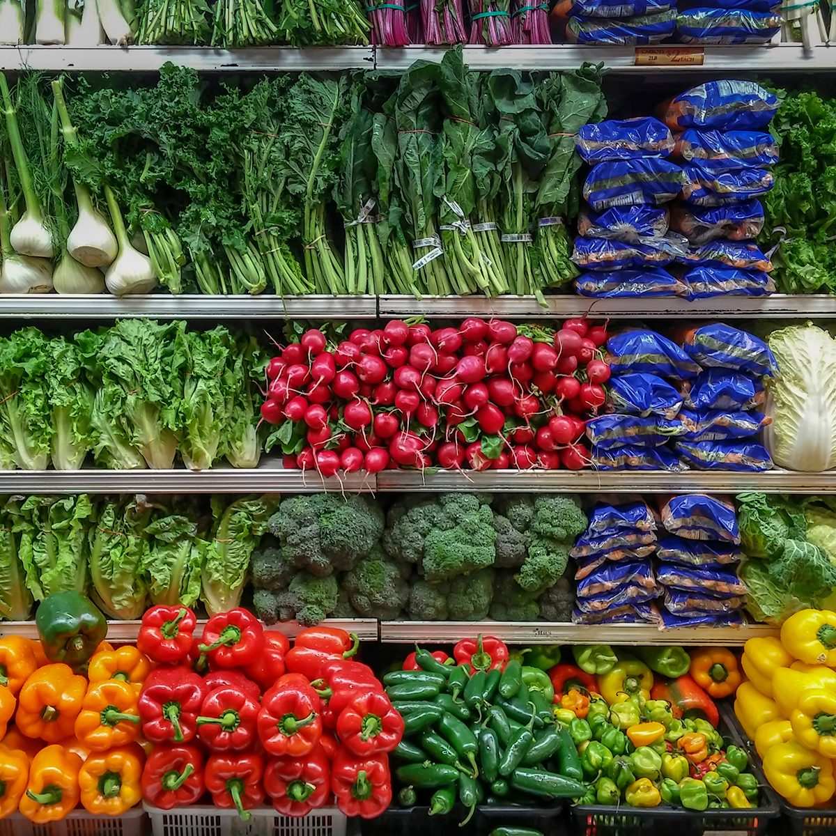 New York NY/USA-January 15, 2019 The produce department of a supermarket in New York; Shutterstock ID 1285396324; Job (TFH, TOH, RD, BNB, CWM, CM): TOH