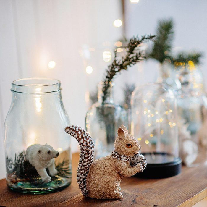 scandinavian christmas interior