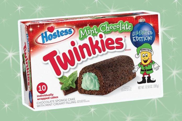 mint chocolate twinkies